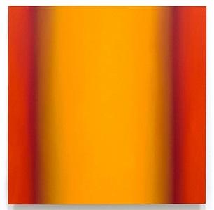 blue orange 2-s48 (yellow orange) by ruth pastine