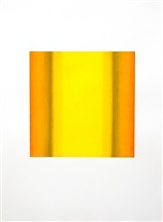 yellow orange ocre by ruth pastine