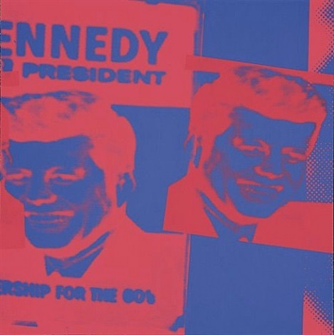 flash - november 22, 1963 (jfk) (f.& s. ii:42) by andy warhol