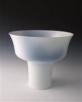 large stem bowl by fance franck