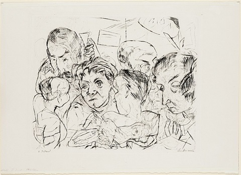 theater by max beckmann