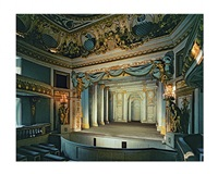théâtre du petit trianon, château de versailles, france by robert polidori