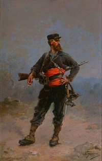 franco-prussian soldier by eugene joseph lejeune
