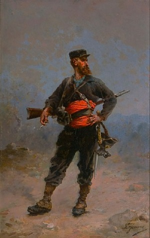 franco-prussian soldier by eugene joseph lejeune