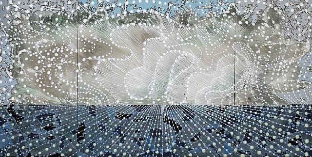 silver wave by barbara takenaga