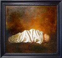 baby dreaming by igor melnikov
