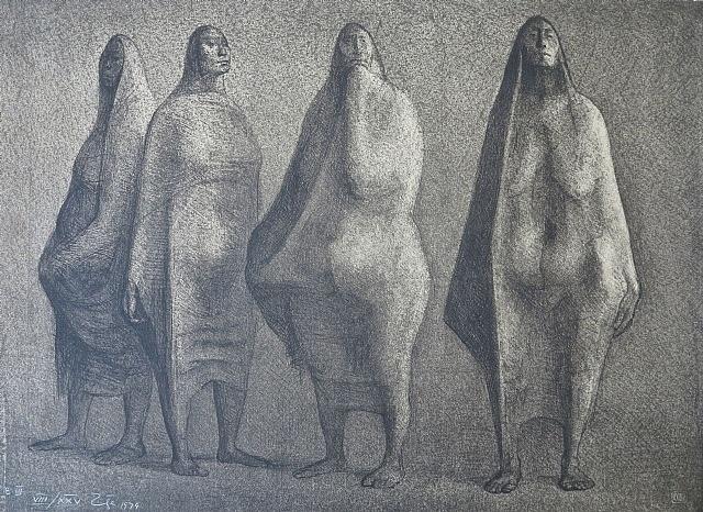 quattro mujeres by francisco zúñiga