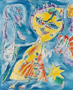 stjernepige (sternenmädchen) by carl-henning pedersen