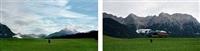 exposure #92: mittenwald, buckelwiesenweg, 07.08.11, 7:28 p.m. by barbara probst