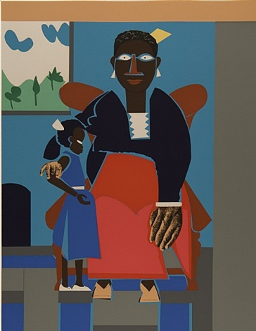 family by romare bearden