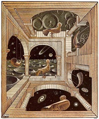 other world (another world) by m. c. escher