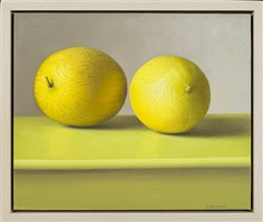 yellow melons by amy weiskopf