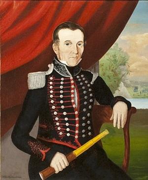 portrait of mr. newton by john bradley