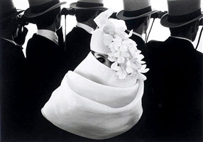 givenchy hat (a), paris by frank horvat