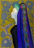 the veiled lady (the persian lady) by joseph stella
