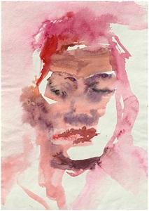 contemporary faces mexican 3 by leiko ikemura