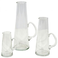 set of pitchers by per lutken for holmegaard by per lutken