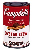 campbells soup ii: oyster stew (ii.60) by andy warhol