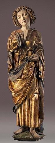 heiliger apostel johannes by michael pacher (master)