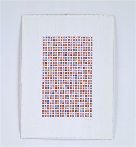 untitled (blotter acid #5) by fred tomaselli