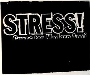 stress! (negative) by andy warhol