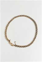 18 carat gold chain with hand clasp