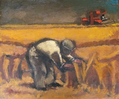harvester by josef herman