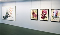 exhibition view i by julian schnabel