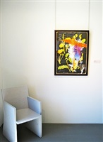exhibition view ii by julian schnabel