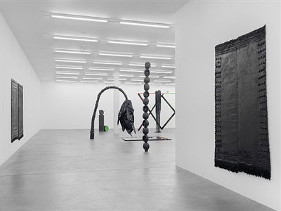 exhibition view by eva rothschild