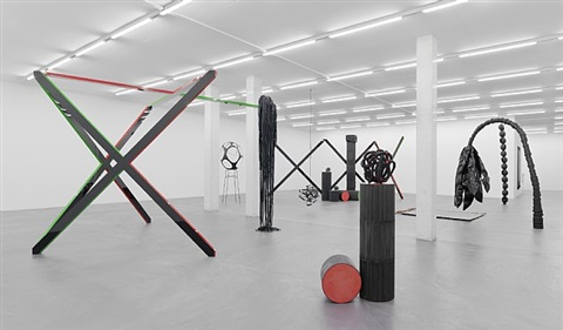exhibition view iv by eva rothschild