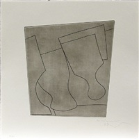two & a half goblets by ben nicholson