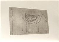 turkish sundial between two turkish forms by ben nicholson