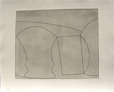 two goblets and a mug by ben nicholson