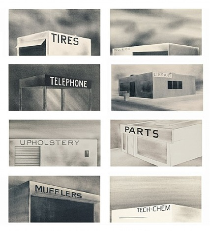 archi-props by ed ruscha