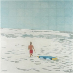 body surfer by isca greenfield-sanders