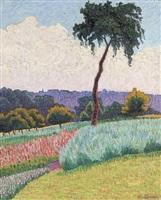 paysage en provence by léo gausson