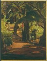 hawthorne lane, gloucester by theresa ferber bernstein