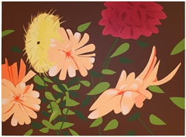 late summer flowers by alex katz