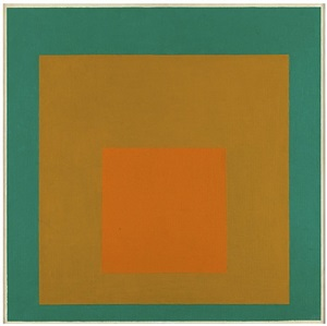 study for homage to the square: towards autumn by josef albers