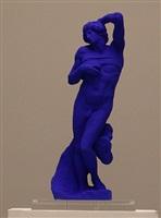 l'esclave de michel-ange / michelangelo's slave by yves klein