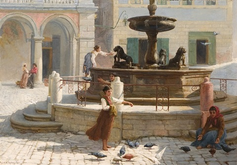 the winged pensioners of assisi by frank william warwick topham