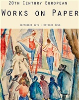 20th century european works on paper
