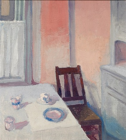 corner of the kitchen by arthur beecher carles