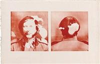 self-elimination portrait , 26 by billy apple