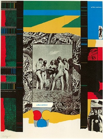 boys and girls by ronald brooks kitaj