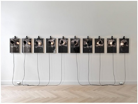 portraits - grosse hamburger strasse by christian boltanski