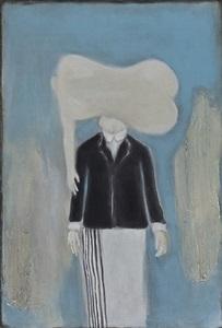 a man wearing suit by li dazhi