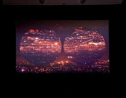 orbite rosse (red orbits), installation view 3 by grazia toderi