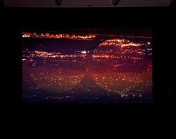 orbite rosse (red orbits), installation view 4 by grazia toderi